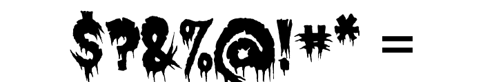 Exquisite Corpse Font OTHER CHARS