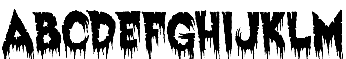 Exquisite Corpse Font UPPERCASE