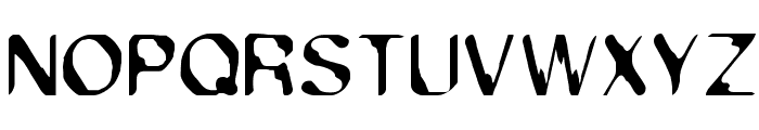 Exsect Regular Font UPPERCASE