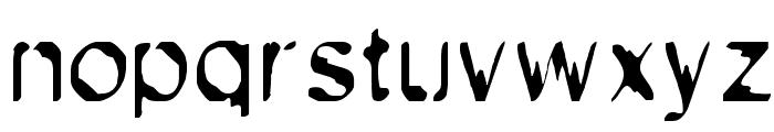 Exsect Regular Font LOWERCASE