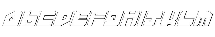 Extechchop Shadow Font UPPERCASE