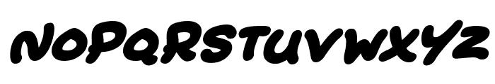 Extra Fruity Italic Font LOWERCASE