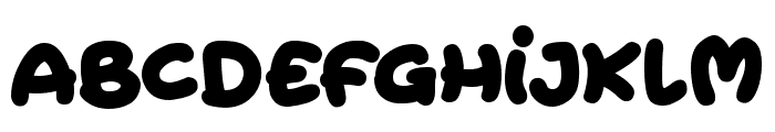 Extra Fruity Font UPPERCASE