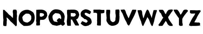 Extra Grotesque Font UPPERCASE