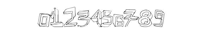 ExtraDimension Font OTHER CHARS