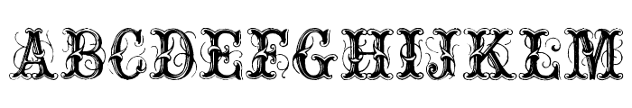 ExtraOrnamentalNo2 Font UPPERCASE