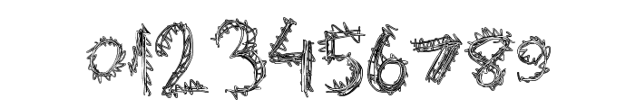 ExtraString Font OTHER CHARS