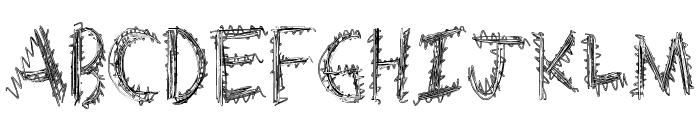 ExtraString Font UPPERCASE
