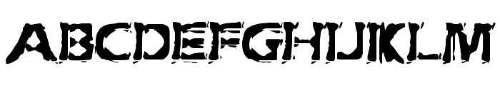 Extraction [BRK] Font UPPERCASE