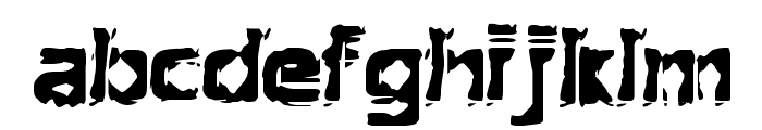 Extraction [BRK] Font LOWERCASE