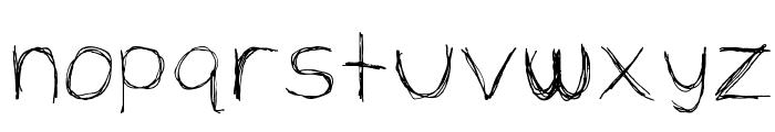 Extrafine Font LOWERCASE
