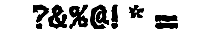 Extralucid Font OTHER CHARS