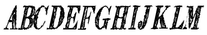 Extranger sol tfb Font LOWERCASE