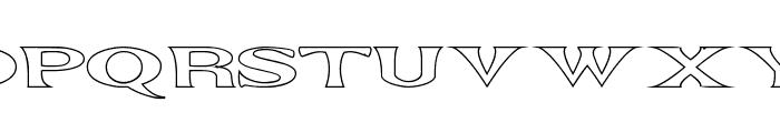 Extrano - Borde Font UPPERCASE