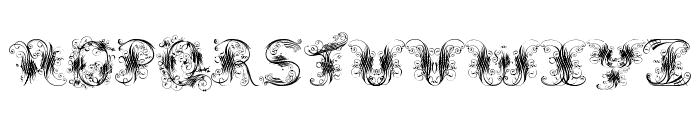 Extravagant Pete Font UPPERCASE