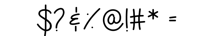 expressions of the soul Font OTHER CHARS