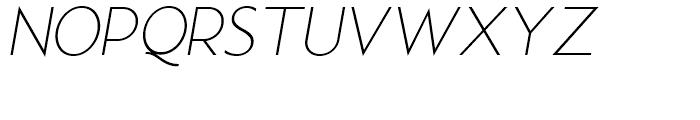 Examiner NF Light Italic Font UPPERCASE