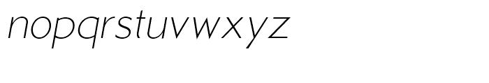 Examiner NF Light Italic Font LOWERCASE