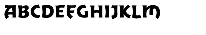 Excalibur Sword Regular Font UPPERCASE