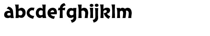 Excalibur Sword Regular Font LOWERCASE