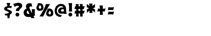 Excalibur Sword Thrust Font OTHER CHARS