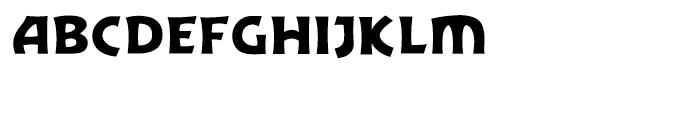 Excalibur Sword Thrust Font LOWERCASE