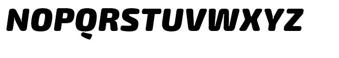 Exo Soft Black Italic Font UPPERCASE