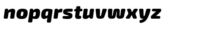 Exo Soft Black Italic Font LOWERCASE