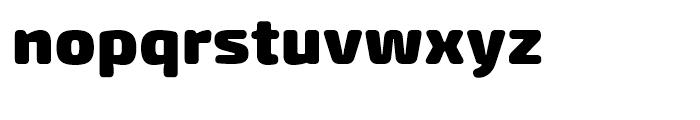 Exo Soft Black Font LOWERCASE