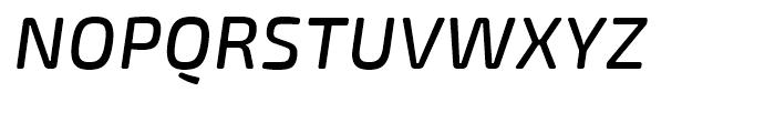 Exo Soft Medium Italic Font UPPERCASE