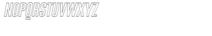 Expansion N14 Font UPPERCASE