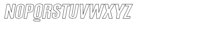 Expansion N24 Font UPPERCASE