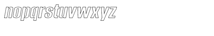 Expansion N24 Font LOWERCASE