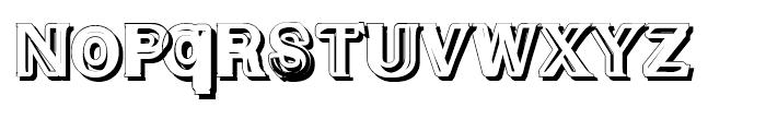 Experi Typo Shadow 4 Font UPPERCASE