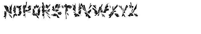 Explosion Part Font UPPERCASE