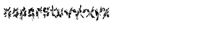 Explosion Part Font LOWERCASE