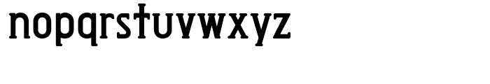 Exposition Rounded DemiBold Font LOWERCASE