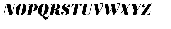Exquise FY Black Italic Font UPPERCASE