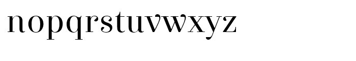 Exquise FY Regular Font LOWERCASE