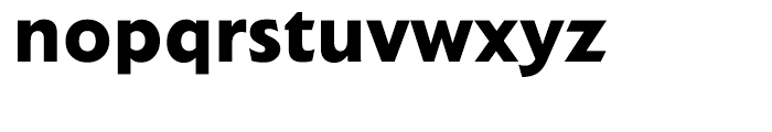Extension Bold Font LOWERCASE