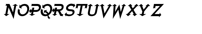 Extreme Junction Regular Font LOWERCASE