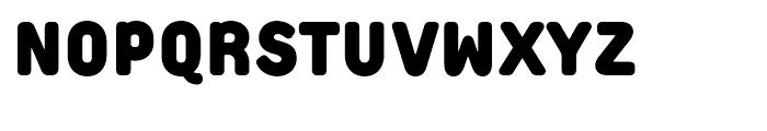 Extreme Sans Black Font UPPERCASE