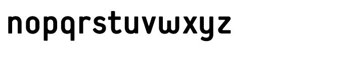 Extreme Sans Bold Font LOWERCASE