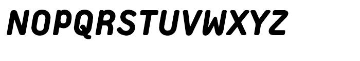Extreme Sans Heavy Italic Font UPPERCASE