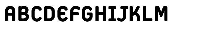 Extreme Sans Heavy Font UPPERCASE