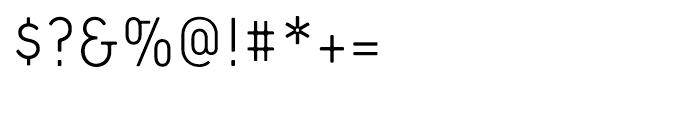Extreme Sans Light Font OTHER CHARS