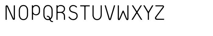 Extreme Sans Light Font UPPERCASE
