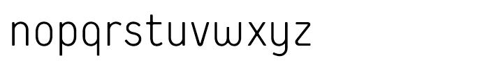 Extreme Sans Light Font LOWERCASE