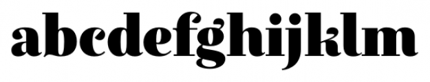 Exquise FY Black Font LOWERCASE
