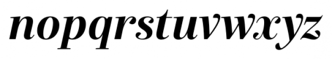Exquise FY Bold Italic Font LOWERCASE